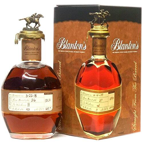 バーボン, シングル・バレル  700ml 64 blanton single barrel blantons bourbon blantons kawahc 11