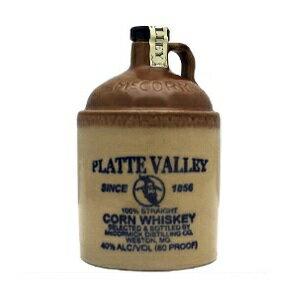 プラットヴァレー ストーン ジャグ 700ml 40度 PLATTEVALLEY Straight corn whiskey STONE JUG プラットバレーコーンウィスキー ウヰスキー 米国アメリカ産 McCormick Distilling Company kawahc 御中元 sale セール お中元 セール価格 お取り寄せグルメ