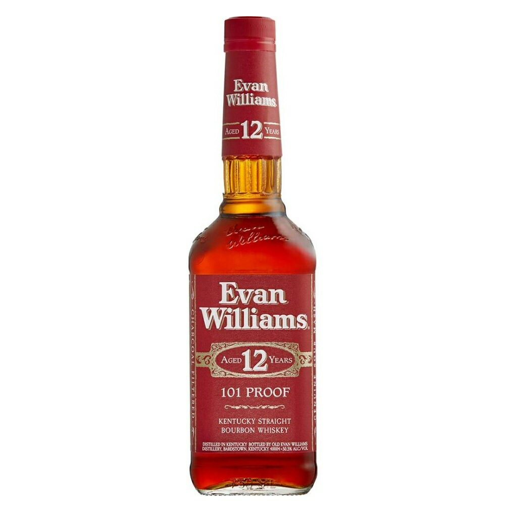 バーボン, ストレート  12 750ml 50.5 (Evan Williams 12y) 12years kawahc