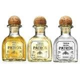 パトロンミニ3種(シルバー・レポサド・アネホ)セット 50ml×3本 40度 Patron Tequila 100% de Agave kawachi ※おひとり様3セット限り