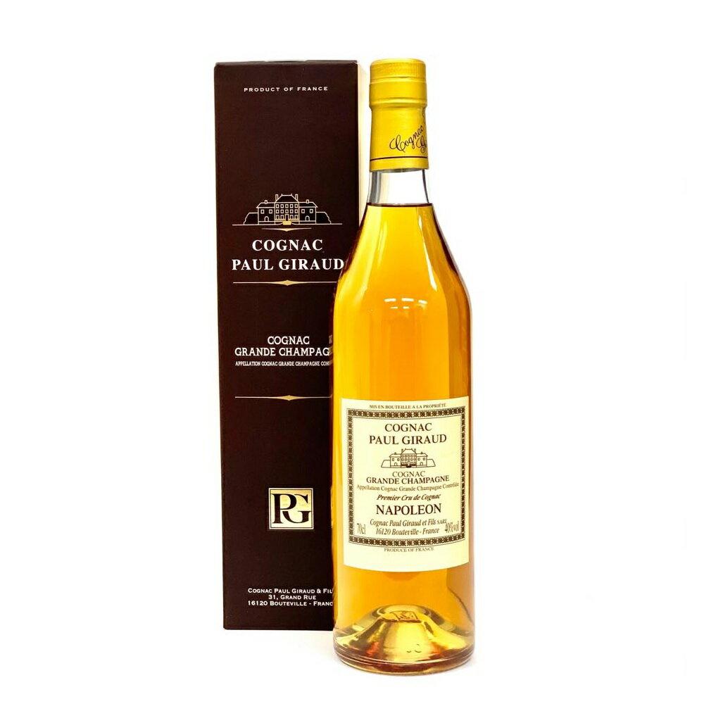 ブランデー, コニャック  700ml 40 Paul Giraud NAPOLEON Cognac kawahc