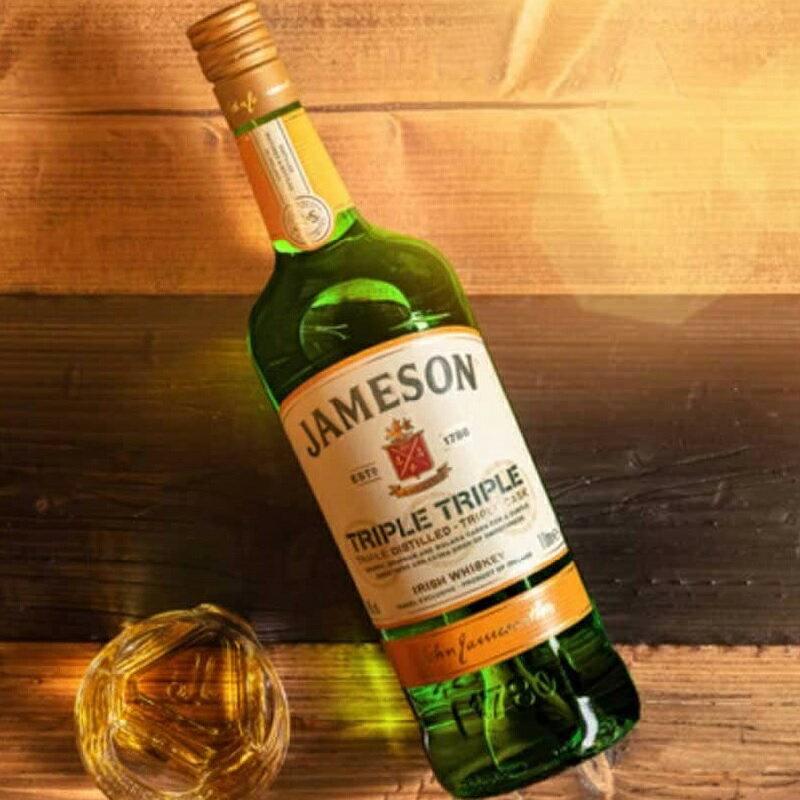 ウイスキー, アイリッシュ・ウイスキー  1000ml 40 Jameson Triple Triple Irish Whisky kawahc sale