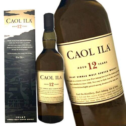 スコッチ・ウイスキー, モルト・ウイスキー  12 700ml 43 CAOL ILA kawahc