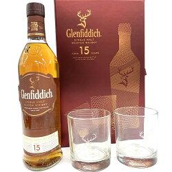グレンフィディック15年700ml40度グラス2個付限定オリジナル特別ギフトセット箱付GLENFIDDICHSOLERARESERVEEスペイサイドシングルモルトウイスキースペイサイドモルトSpeysideMaltsinglemaltscotchwhiskykawahc