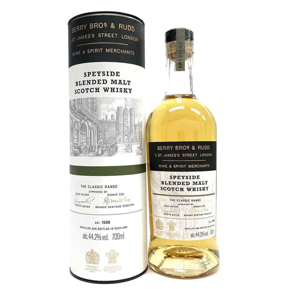スコッチ・ウイスキー, モルト・ウイスキー BBR 700ml 44.2 Berry Bros. Rudd Classic Speyside, Blended Malt Scotch Whisky kawahc