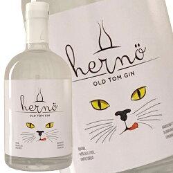 ヘルノオールドトムジン500ml43度正規輸入品HERNOOLDTOMGINスウェーデンオーガニックジンorganic猫catkawahc世界最高賞のジン