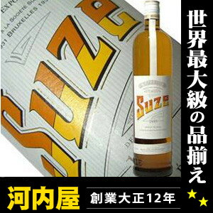 Genuine ( Suze ) liqueur liqueur type kawahc at 15 sues 1 L (1000 ml)