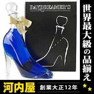 Blue Cinderella day dreamer with 350 ml 15 degree box's liqueur liqueur type kawahc with a Cinderella shoe Cinderella glass shoes Cinderella liquor proposal rings wedding rings
