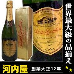 1860年からの伝統の味わい。 スペインの名門カヴァ生産者(スパークリングワイン) ロジャーグ...