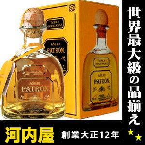パトロン アネホ テキーラ 750ml 40度 箱付 (Patron Anejo Tequila 100% de Agave ) パトロン アニェホ kawahc