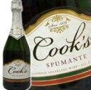 クックス・スプマンテ 750ml 正規 1ケース(12本) 【ケース販売で1本あたり799円】 【同梱不可】 Cook's spmante American Sparkling Wine kawahc