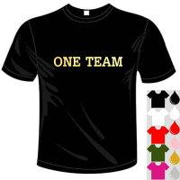 河内國製作所「ラグビー大好きONETEAM(ワンチーム)Tシャツ」全5色。ベースボールおもしろTシャツ文字T-shirtおもしろてぃーしゃつ半袖ドライTシャツメール便は送料無料