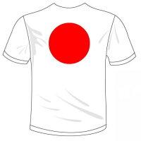 河内國製作所「日の丸Tシャツ日章旗Tシャツ」おもしろTシャツ国旗T-shirtおもしろてぃーしゃつ半袖ドライTシャツメール便は送料無料