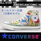 コンバースメンズレディーススニーカーオールスター100アメリカンコミックハイカットマルチconverseallstar100americancomichi【送料無料】