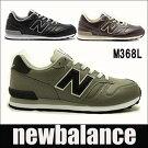 【送料無料】【クラシック】ニューバランスメンズスニーカーM368Lブラック,ブラウン,グレーnewbalancem368lBLBCCA【RCP】靴シューズ02P06Aug16