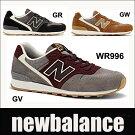 ニューバランスレディーススニーカーWR996BLACK/GRAYGRAY/BURGUNDYTANnewbalancewr996GVGRGW【送料無料】