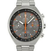 【中古】オメガスピードマスターマーク2327.10.43.50.06.001ステンレススチール腕時計自動巻きグレー文字盤クロノグラフOMEGA