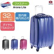 スーツケース サムソナイト アメリカンツーリスター アローナライト ファスナー ジッパー