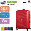 スーツケース   SAMSONITE (サムソナイト) American Tourister (アメリカンツーリスター) Air Force1 (エアフォースワン) Spinner 76cm 18G*003 ファスナー/ジッパー ブルー