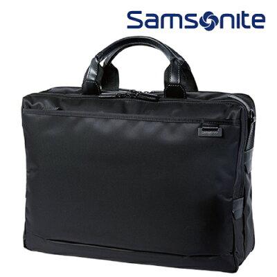 ブリーフケースM SAMSONITE サムソナイト Debonair IV デボネア4 ビジネスバッグ メンズバッグ 2WAYバッグ DJ8*09002 ブラック