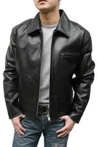 レザージャケット 本革ジャケット 革ジャン ライダースジャケット メンズ トラッカータイプ 本革 ライダースジャケット
