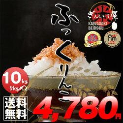 新米29年産北海道産ふっくりんこ10kg(5kg×2袋セット)<白米>【送料無料】【北海道米送料込み米お米真空パック選択可】