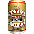 ウエストエンド エキストラライト330ml×24本 [1ケース]<ビールテイスト>※3ケースまで1個口配送出来ますWEST END EXTRA LIGHT ウェストエンドビールテイスト飲料 [13oc16am]