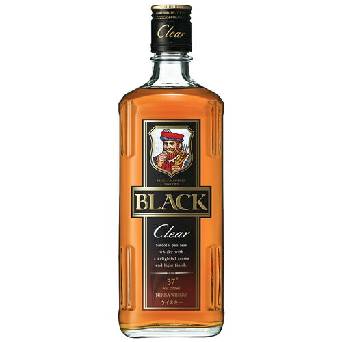 ウイスキー, ジャパニーズ・ウイスキー  37 700ml1 Black NIKKA Clear T.001.1862.1.SE