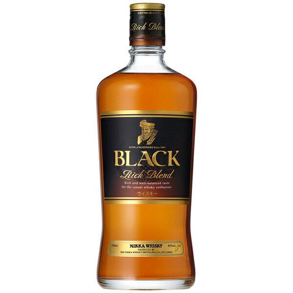 ウイスキー, ジャパニーズ・ウイスキー  40 700ml1 Black Nikka Rich Blend T.001.2145.1.SE