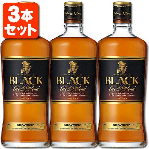 ウイスキー, ジャパニーズ・ウイスキー 3 40 700ml3 Black Nikka Rich Blend T.001.2145.1.SE