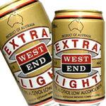 ウエストエンドエクストラライト330ml×24本[1ケース]<ビールテイスト飲料>【3ケースまで1個口配送出来ます】