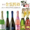 【6本セット送料無料】全て金賞受賞獲得のスパークリングワイン6本セット<ワインセ