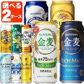 【送料無料】[2ケース]新ジャンルビール500ml選べる2ケースセット500ml×48本[2ケース]<新ジャンルセット>※他のコーナーの商品と同梱は出来ません※北海道、沖縄県は送料無料対象外よりどり[13ju16am]