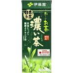 【2ケース購入で送料無料!】伊藤園おーいお茶緑茶濃い味250ml×24本[1ケース]<紙パック飲料>【3ケースまで1個口配送出来ます】※沖縄県は送料無料対象外です。