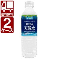 【送料無料】【激安】[2ケースセット]郷の恵み天然水500mlx48本※北海道・沖縄県は送料無料対象外です。<ペットボトル飲料>