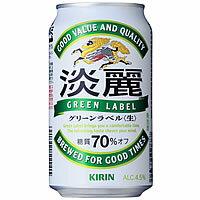 最安値に挑戦! 1本あたり126円!キリン 淡麗グリーンラベル 350ml×24本 [1ケース]<缶ビール/...