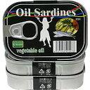 なんと1缶93円!油漬けにした鰯(いわし)の缶詰をお得な3パックで!!インターフレッシュ オイル...