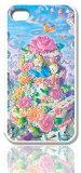 ディズニースマホケース(ホワイト)【アリスインスイーツランド】選べる機種(iPhone6, 6 plus/5C/5/4, GALAXY S5/S4/S3/S2/LTE, XperiaA, Xperia acro HD, HTC J)Disney/スマホカバー