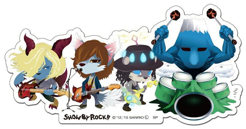 SHOW BY ROCK!!【ステッカー】(ガウガストライクス)ショウバイロック show by rock画像