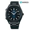 SEIKO セイコー WIRED ワイアード AGAB413 電池式クォーツ メンズ 腕時計 ウォッチ 時計 ブラック色 金属ベルト 国内正規品 メーカー保証付 誕生日プレゼント 男性 ギフト ブランド かっこいい もてる 送料無料
