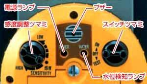 ヤマヨミリオンロープ水位計水位測定水位計RWL10M