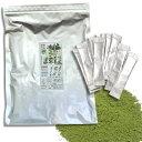 粉末茶 スティック 楽らく茶 1g×100包/ペットボトル100本作れる 粉末緑茶。 微粉末茶 粉砕緑茶 お茶割...