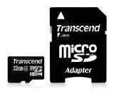 スーパーSALE☆【32GB】 トランセンド 永久保証 microSDHC CLASS4対応 with adatper TS32GUSDH...