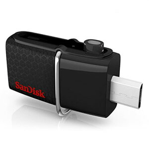 ◇ 【64GB】 SanDisk/サンディスク USBメモリー(OTG) USB3.0対応 microUSB Dual USB Drive Andr...