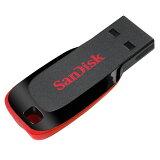 128GB USBメモリー SanDisk サンディスク USB Flash Drive Cruzer Blade USB2.0 海外リテール SDCZ50-128G-B35 ◆メ