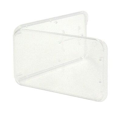 ◇ノーブランドmicroSD+SDカードケース収納に最適!簡易包装バルクmicro-SD-CASE-BLK◆メ