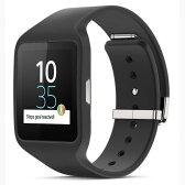 ◇ SONY ソニー スマートウォッチ3 Smart Watch 3 SWR50 Black ブラック シリコンブレス 並行輸入品 1287-4372 ◆宅