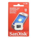 ◇ 【32GB】 SanDisk サンディスク microSDHCカード CLASS4 海外リテール SDSDQM-032G-B35 ◆メ