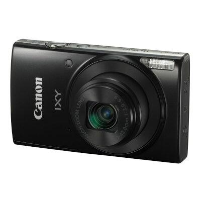 ◇CanonキヤノンデジタルカメラIXY190高性能手ぶれ補正2000万画素光学10倍Wi-Fi機能ブラック1086C001IXY190(BK)◆宅