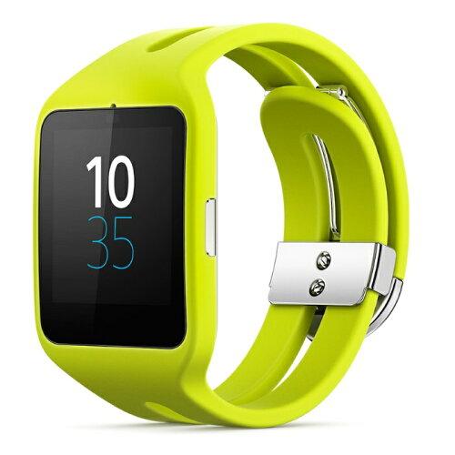 ◇ SONY ソニー スマートウォッチ3 Smart Watch 3 SWR50 Lime ライム シリコンブレス 並行輸入品 1...
